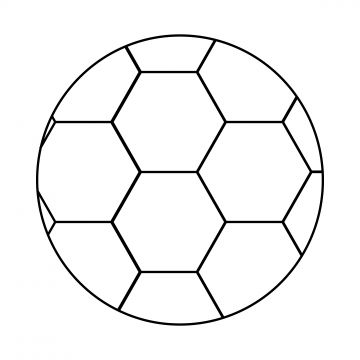 Ball Soccer Icon Outline Vector Style Isolated White Background Thin Line Football Competition Play Game Sport Equipment Sphere Symbol In 2020 Soccer Ball Soccer Ball