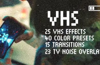 Download Vhs Effects Pack For Premiere Pro Free Videohive In 2020 Premiere Pro Vintage Film Premiere