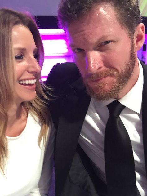Dale jr and Amy Reimann at NNS Awards 2014.  http://www.pinterest.com/jr88rules/dale-jr-2014  #DaleJr2014