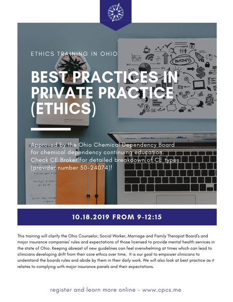 Best Practices In Private Practice Ethics Private Practice
