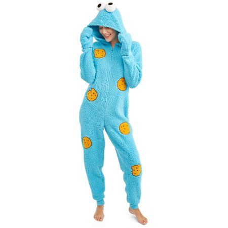 Pink OWL Fleece HOODED Pajamas Girl Child L XL Union Suit One Piece PJ Costume