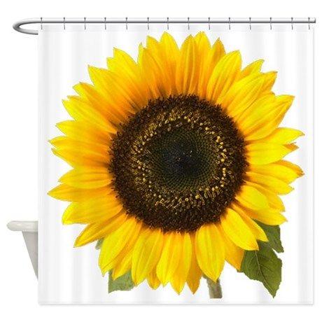 Home In 2020 Bathroom Shower Curtains Sunflower Bathroom