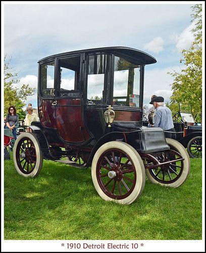 1910 Detroit Electric Electric Cars Antique Cars Vintage Cars