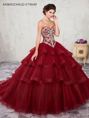 Pin De Averie En Lilys Quinceanera En 2019 Vestidos Color