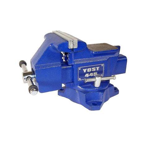 Yost 4-1//2 Inch Utility Vise Model 445 Apprentice Series Bench Vise