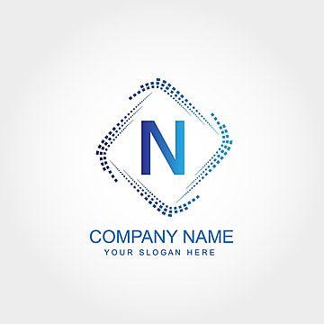 Letter N Logo Template Design In 2021 Logo Templates Logo Design Free Templates Logo Design Template