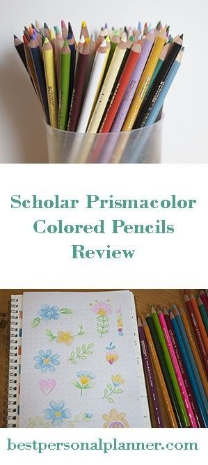 Prismacolor Colored Pencils Review Bullet Journal Diy Colored