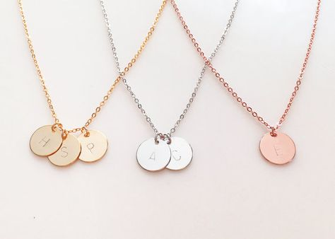Hey, I found this really awesome Etsy listing at https://www.etsy.com/listing/227371535/delicate-initial-necklace-gold-letter