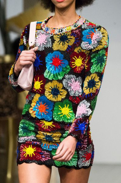 Ashish, Fall 2018 - The Most Colorful Runway Details From London Fashion Week, Fall 2018 - Photos