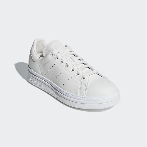 the latest 0238d 95c39 Stan Smith New Bold Shoes Running White 7.5 Womens