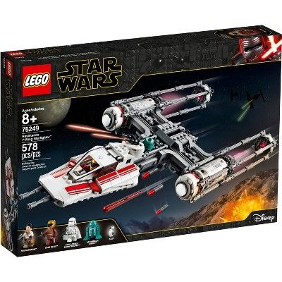 Lego Star Wars The Rise Of Skywalker Resistance Y Wing Starfighter New Advanced Collectible Starship Model Building Kit 75249 In 2020 Star Wars Set Lego Star Wars Sets Starfighter