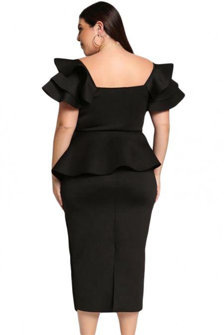 26++ Black short sleeve peplum dress inspirations
