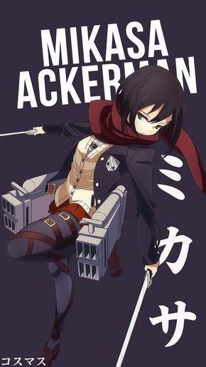 Mikasa Ackerman Anime Character Names Attack On Titan Anime Attack On Titan