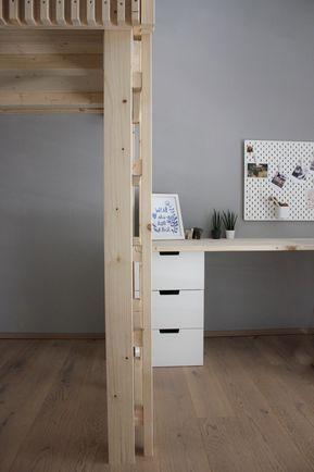 Diy Schreibtisch Ikea Nordli Hack Www Sophielgutes Com Zimmer Schreibtische Kinderzimmer Wohnen
