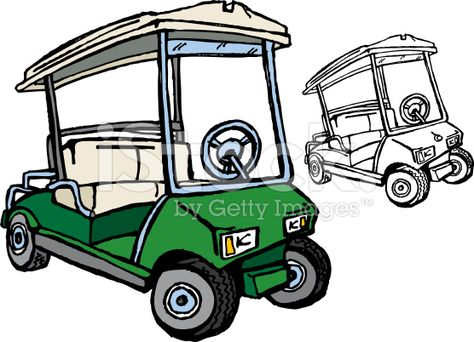 Golf Cart Drawings Google Search Golf Carts Golf Art Grad Pics
