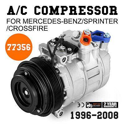 A//C Compressor Fits Mercedes-Benz,Dodge Sprinter,Crossfire 77356