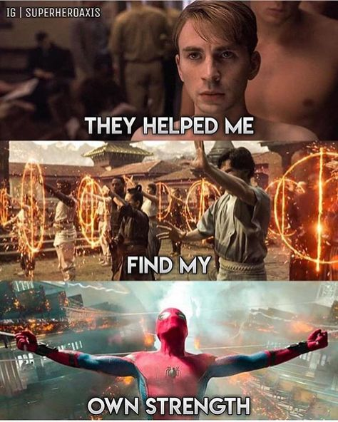 """Marvel Entertaivment on Instagram: """"This is exactly what our Avengers taught me.. 😭 What did they taught to you? Let me know in the comments down below!👇��� _ Follow:…�"""