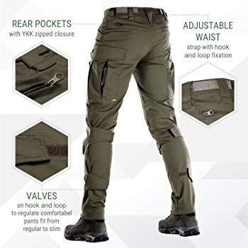 ea8bc2580c841 Amazon.com: M-Tac Conquistador Flex - Tactical Pants Men Cargo ...