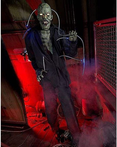 Spirit Halloween 2020 Props List Experimental Eddie Animatronic Shocks at Spirit Halloween
