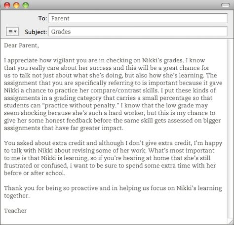 Practical Advice For Teachers About Emailing With Parents Parents As Teachers Instructional Leadership Practical Advice