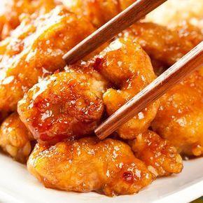 Un Delicieux Plat Chinois De Poulet Frit A L Orange Tres Simple A Faire Ingredients 500 G De Coffres De Poulet Poulet Frit Plat Chinois Recette Asiatique