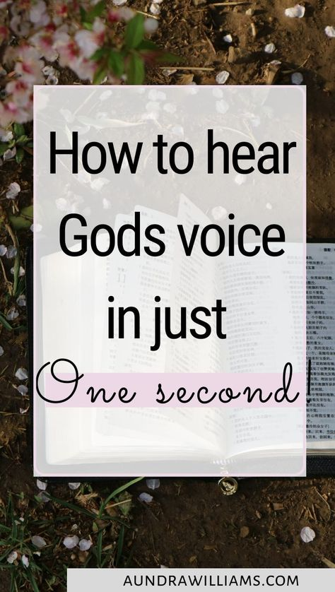 Want to know how to hear Gods voice?Check out this post to learn How to hear Gods voice fro beginners to learn exactly how to hear Gods voice and make his voice known within your life TODAY!! Click to read how you can study the bible while hearing from God. or rein for later when you're doing Bible Study.