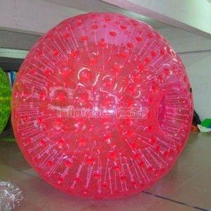 2 5m Full Pink Zorb Bowling Zorbing Cornwall Ball Pink Bowling
