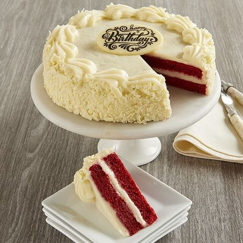 Astonishing Red Velvet Cake Delivery Perfect As A Birthday Cake In 2020 Personalised Birthday Cards Xaembasilily Jamesorg