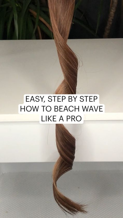 EASY, STEP BY STEP HOW TO BEACH WAVE LIKE A PRO learn to curl / beach wave your hair tutorial
