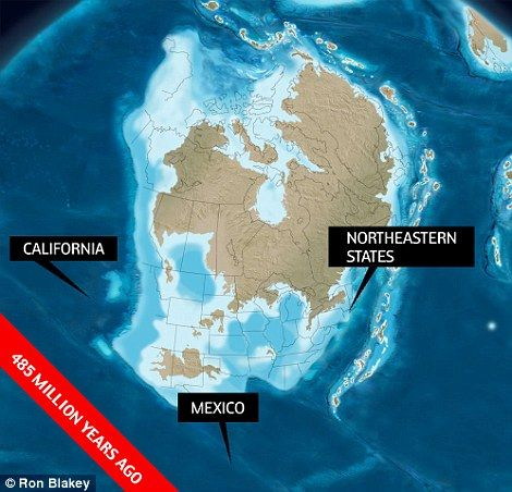 What north america looked like 550 million years ago publicscrutiny Choice Image