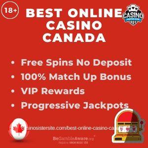 Best Online Casinos Canada With No Deposit Bonus 100 Bonus And Progressive Jackpots Online Casino Best Online Casino Casino