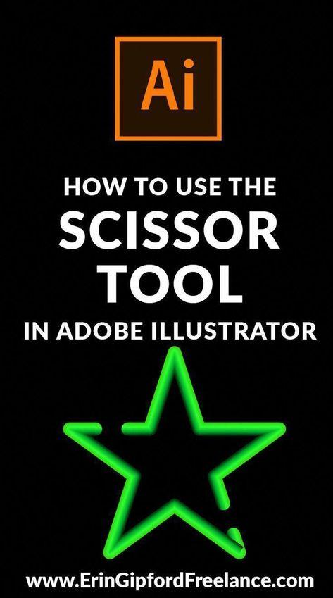 Adobe Illustrator Video Tutorial: How to use the scissor tool -   - #AdDesign #adobe #AdobeIllustrator #Draping #GraphicDesignPortfolios #illustrator #IllustratorTutorials #LogoType #PortfolioBook #PortfolioLayout #ProductSketch #RetroLogos #scissor #StoreWindowDisplays #Tool #tutorial #video #VintageLogos