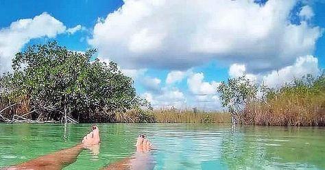 natura #muyil #laguna #siankaan...