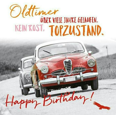 Geburtstag gedicht oldtimer