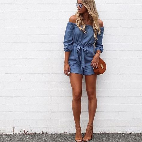 We LOVE Agatha in the Jacqui Playsuit & Melrose Heels xx