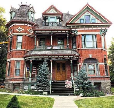 46 Ideas For House Vintage Victorian Dream Homes Victorian House Colors Modern Victorian Homes Victorian Homes