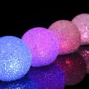4 Pack 3 Color Changing Portable Led Centerpiece Ball Lights Battery Operated Led Orbs In 2020 Led Ball Lights Ball Lights Cotton Ball Lights