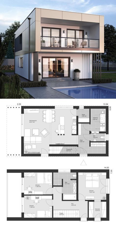 Pin By Tayeb On House Designs House Architecture Design House Layouts Modern House Plans