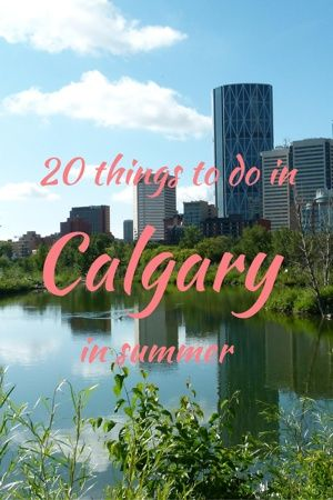 Calgary offers a lot of activities during the summer for locals and visitors alike. Here are 20 outdoor activities which we enjoy during summer in Calgary.