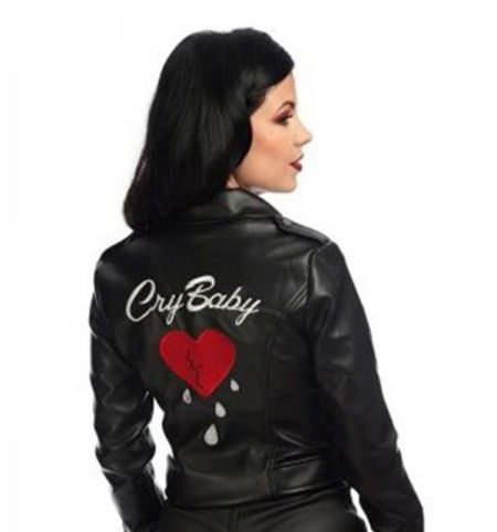 Women Cry Baby Leather Jacket Baby Leather Jacket Leather Outfit Leather Jacket