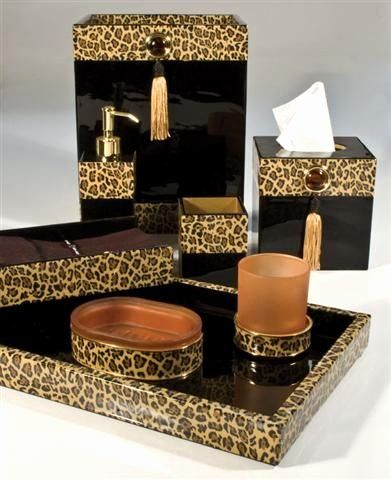 Animal Print Bathroom Decor Luxury, Leopard Bathroom Ideas