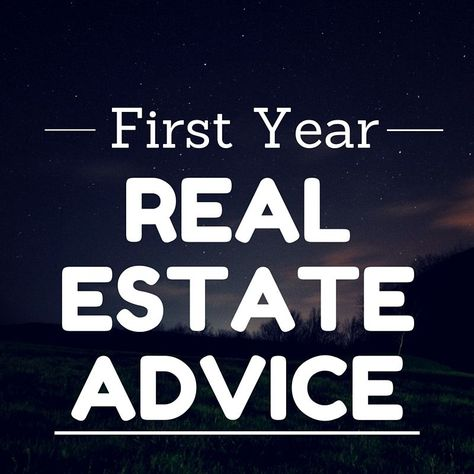 17 Realtors® Go Back in Time: First Year Real Estate Advice!