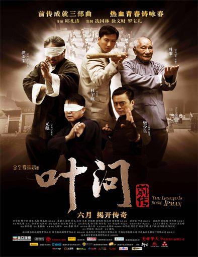 Poster De Ip Man La Leyenda Ip Man Martial Arts Actor Martial Arts Movies
