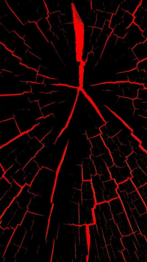 Black With Red Cracks Wallpaper Abstract And Geometric Wallpapers