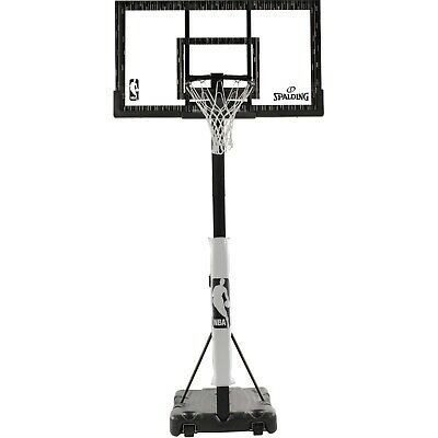 Advertisement Ebay Spalding Nba 60 Acrylic Screw Jack Portable Hoop System Portable Basketball Hoop Basketball Systems Adjustable Basketball Hoop