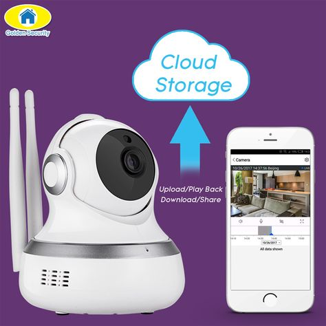 Zolotoj Bezopasnosti 720 P Ptz Cloud Storage Wi Fi Ip Kamera Obnaruzheniya Dvizheniya Bezopasnosti Kamera Security Camera Wireless Surveillance Camera Camera Apps