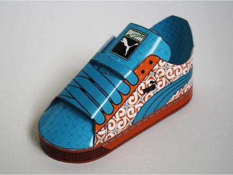 En Toy Sneakers Pinterest PapierPaper Toys Puma 8ZOnXN0kwP