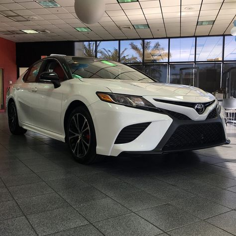 dd9444d7114 2018 Camry SE with red genuine leather interior. Custom made for you.  2018