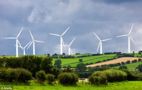 Wind farms are a 'complete scam', claims the Environment Secretary who says turbines are causing 'huge unhappiness'
