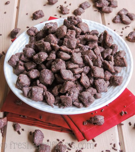 Brownie Batter Puppy Chow Recipe Puppy Chow Recipes Puppy Chow Brownie Batter